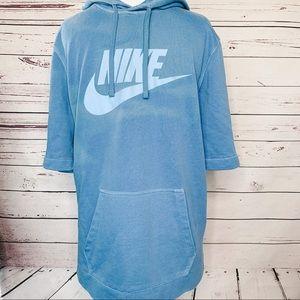Nike Wash Pack Pullover Short Sleeve Hoodie Men